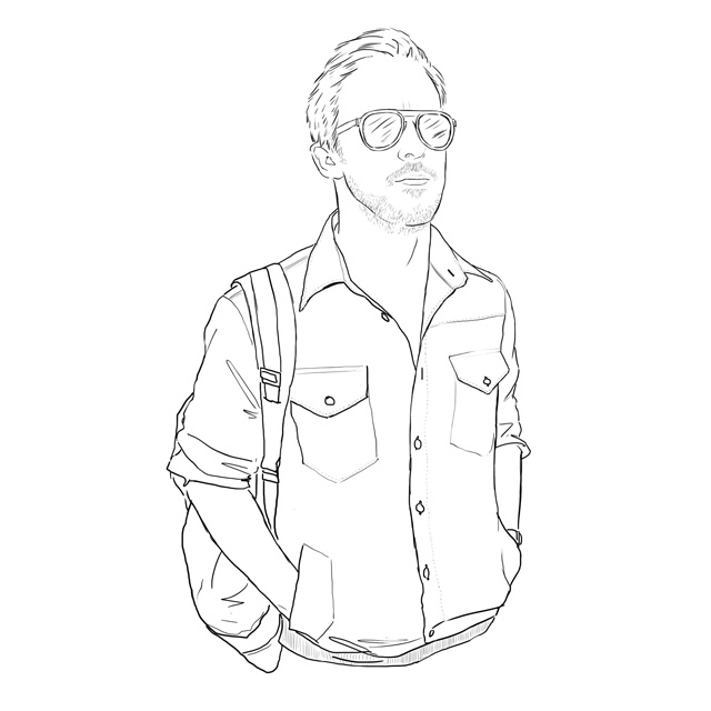 Yes, this is a ryan gosling color me good colouring book
